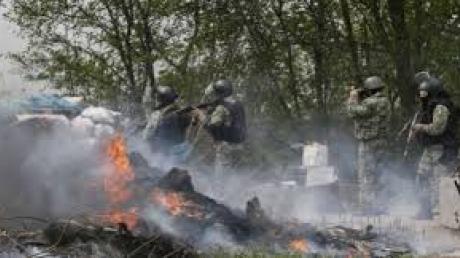 Пресс-центр АТО: в полночь боевики снова атаковали Широкино