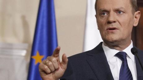 Туск: Евросоюз продолжит санкционное давление на Россию