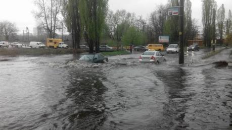 киев, ливень, фото, погода, погода в киеве, прогноз погоды, кадры, смотреть видео, потоп, украина