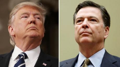 """Трамп просил оставить дело Флинна и требовал """"быть верным"""" у главы ФБР - в США шокированы заявлением экс-чиновника Коми"""