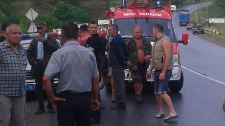 В Тернопольской области в ДТП попали более 50 человек - опубликованы кадры