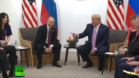 Трамп в лицо высказал Путину претензии о вмешательстве в выборы