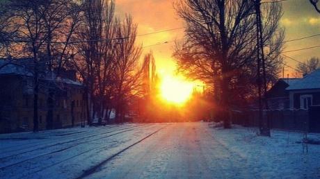 В ночь на 14 февраля артобстрелу подвергся Буденновский район