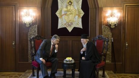 Ради мира в Украине: Президент Украины провел встречу со Вселенским патриархом Варфоломеем