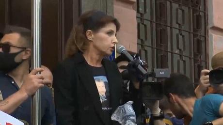 """Марина Порошенко за несколько минут до суда обратилась к украинцам: """"Мы будем бороться"""""""