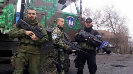 """Бойцы АТО получили на вооружение современные автоматы """"Форт – 221"""""""