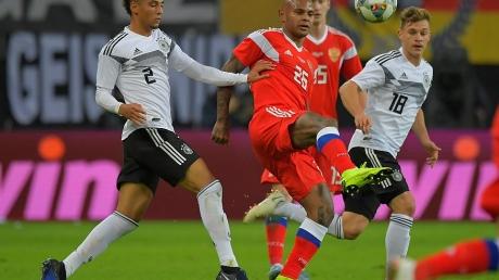 россия, германия, футбол, товарищеский матч, сборная россии, сборная германии, позор, разгром, смотреть видео, сане, гнабри, зюле, черчесов