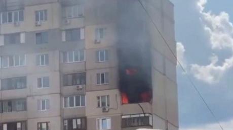 киев, пожар, происшествия