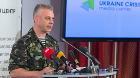 """Лысенко: """"Правый сектор"""" не будет продолжать наступление, на сайт была осуществлена кибер-атака"""