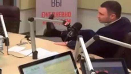 """""""Завернутые носки и волшебные пендели"""": Кличко выдал новый перл"""