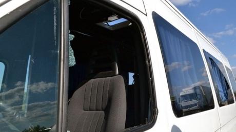 """Подробности обстрела автобуса """"Одесса-Киев"""": водитель рассказал о неоднократных нападениях и стрельбе"""
