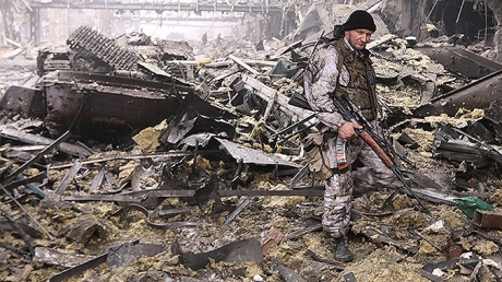 новости украины, новости донецка, аэропорт донецка, днр