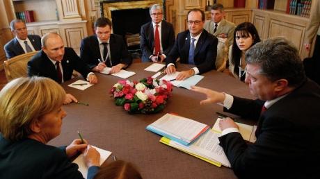 """Зайберт: 11 февраля Минск примет саммит в """"нормандском формате"""""""