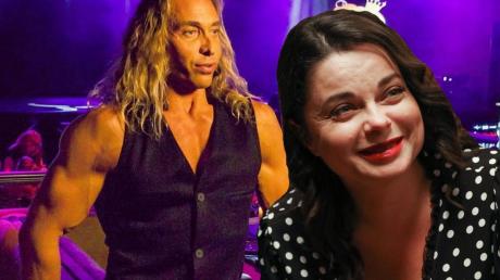 """Тарзан нашел """"замену"""" Наташе Королевой: девушка в два раза моложе певицы и похожа на культуриста, кадры"""