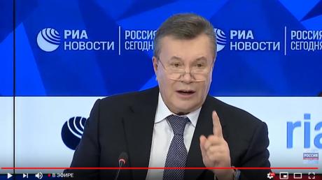 Пресс-конференция Януковича в Москве: предатель возмутил украинцев наглым заявлением