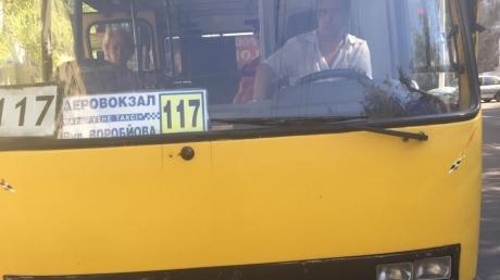 В Одессе неадекватный водитель маршрутки напал на украиноязычную девушку