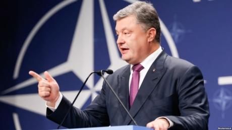 В России по достоинству оценили мудрое решение Порошенко, отметив, что Украина выбрала правильный курс на сближение с НАТО