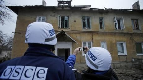 ОБСЕ: ДНР и ЛНР отказались прекращать огонь