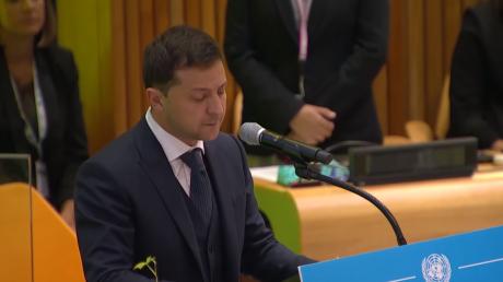 Сильное выступление Владимира Зеленского на Генассамблее ООН – видео