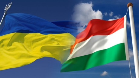 смотреть видео, кадры, венгрия, украина, пикет, акция, консульство, берегово, закарпатская область