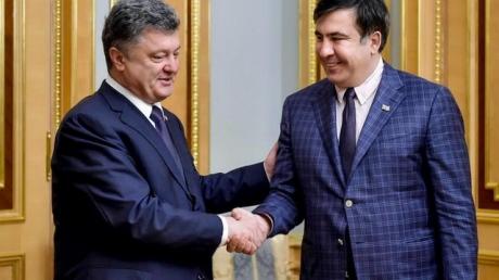 СМИ: Саакашвили согласился переехать из Одессы в Киев и возглавить Адмнистрацию Порошенко