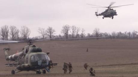 украина, ато, всу, учения, десант, агрессия, война на донбассе