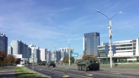 В центр Минска стягивают БТРы и внутренние войска перед Маршем справедливости - готовится разгон