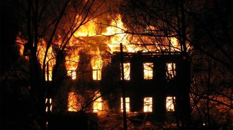 Украина, Киев, происшествия, дети, пожар, Охматдет