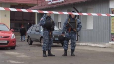 В Одессе нашли взрывчатку у отделения ПриватБанка