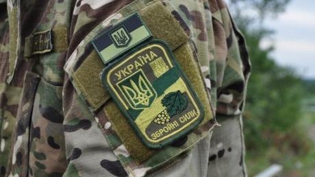 Украина, Донецкая область, Склад боеприпасов, АТО, ВСУ, Пострадавший