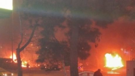 В Сеть попали жуткие кадры с места теракта в центре Анкары