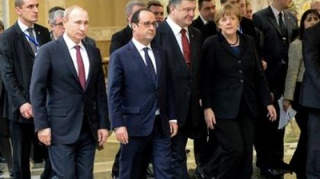 Минск, переговоры, декларация, заверили на словах, мир на востоке Украины