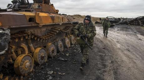 АТЦ: населенный пункт Логвинов под контролем Украины, по Дебальцево террористы стреляют из всех видов оружия