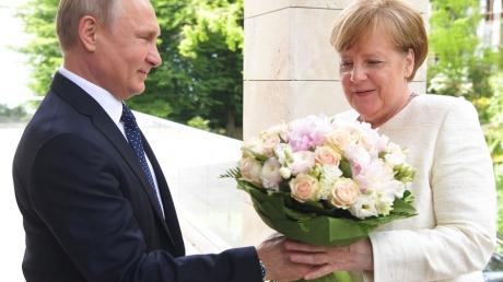 Меркель, Германия,Путин, Сочи, переговоры, газ, Северный поток -2