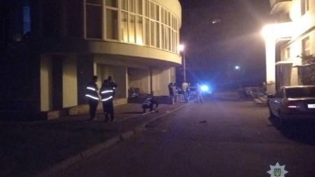 украина, криминал, взрыв, подол, граната, полиция