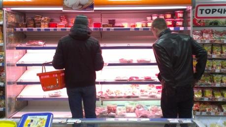 Рост цен в магазинах Донецка не повлиял на продуктовый ажиотаж