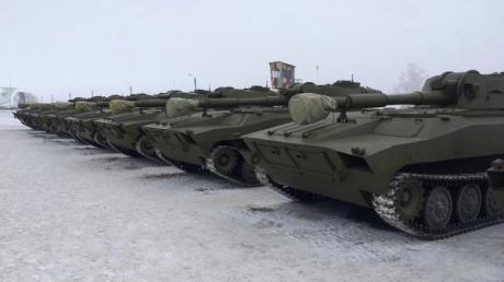 Силам АТО запрещено использовать артиллерию