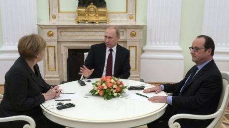 Предложения Путина и Порошенко войдут в документ по урегулированию ситуации в Донбассе