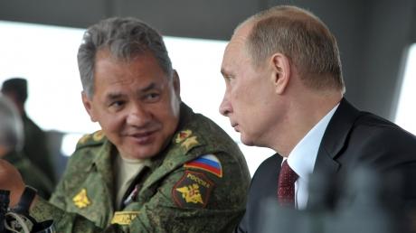 Шойгу отчитался перед Путиным об убийстве десятков тысяч человек в Сирии