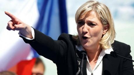 европа, франция, скандалы, ле пен, ругательства, дерьмо, политика