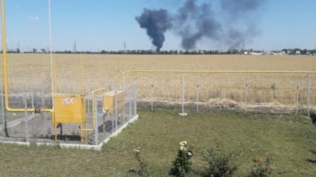 Пожар в трех километрах от Одессы: горит нефтебаза - кадры