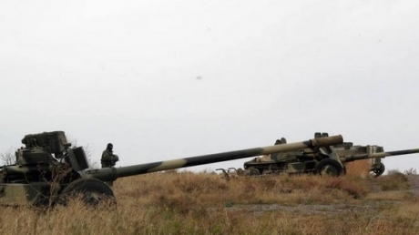 """Под Мариуполем ВСУ отвели 100-мм пушки - сектор """"М"""""""
