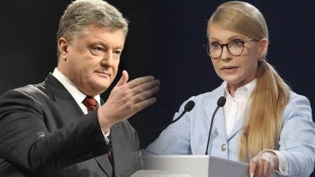 Порошенко идет в отрыв от Тимошенко - у Юли все меньше шансов попасть во второй тур