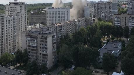 В Киеве на месте взрыва в жилом доме образовались руины из 2 этажей: жуткие кадры с места ЧП в районе Голосеевского проспекта