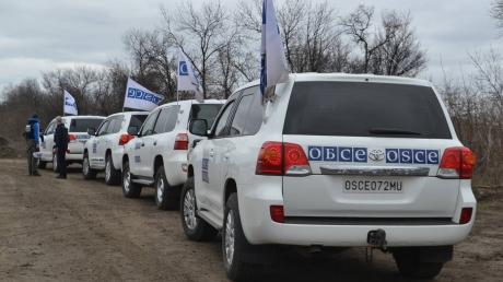 Украина требует возобновить совместное с ОБСЕ патрулирование Авдеевки