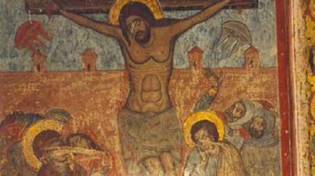 Когда уфологи увидели эти изображения на иконе в грузинском соборе, были сильно поражены – научный мир всколыхнул сенсационный факт об НЛО и Иисусе Христе - кадры