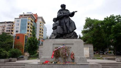 Болгария, София, Памятник, СССР, Россия.