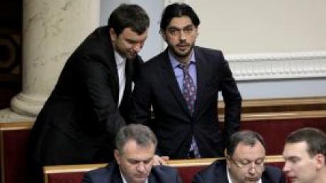 Гео Лерос, Скандал, Слуга народа, Заявление, Ермак