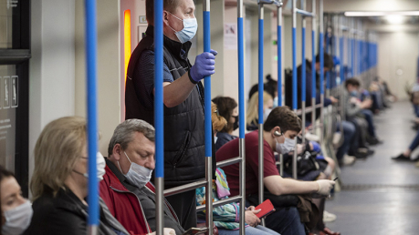 Киев, метро, маска, Интернет, лопух