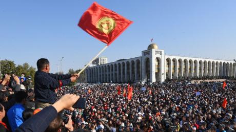 Смена власти в Бишкеке: оппозиция избрала нового мэра столицы Кыргызстана
